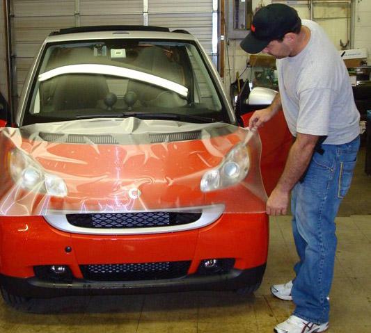 Clear Car Bra: Paint Protection Film Denver