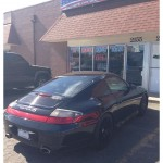 Porsche 911 window tinting