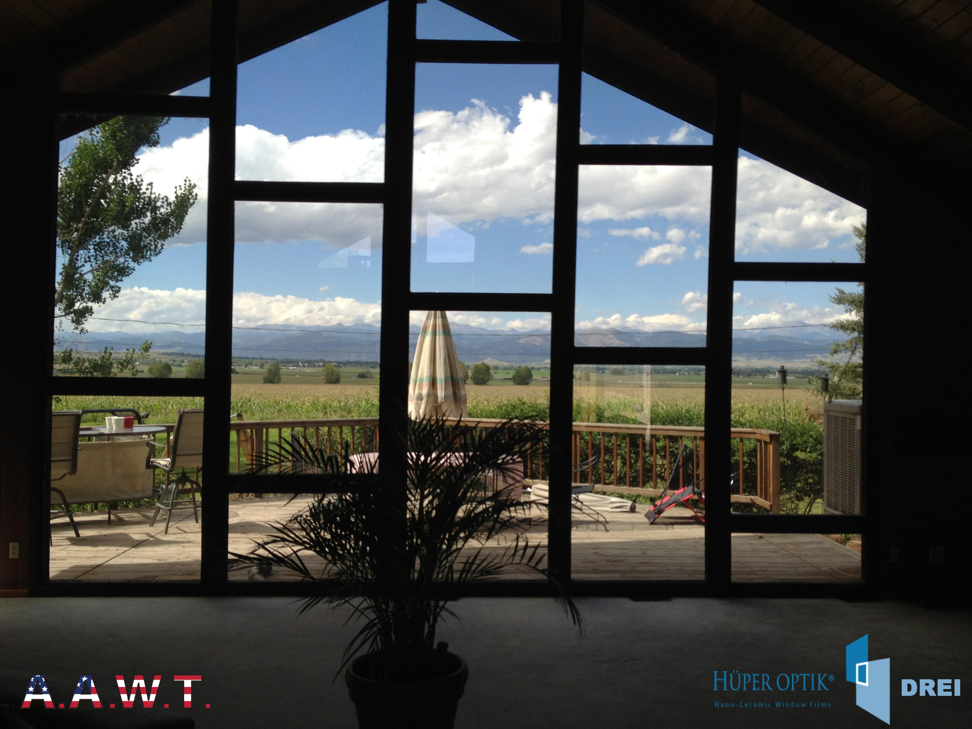 Home window tinting denver residential window tinting for Home on windows
