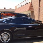 window tinting tesla