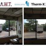 Therm-X 30, Huper Optik, Commercial Job, Heat reduction,