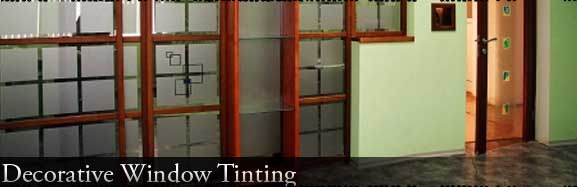 decorative window tinting