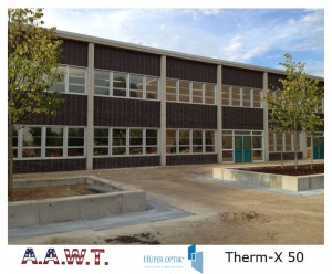 Huper Optik School tinting, therm-x