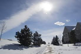 Snow, sunshine, Colorado