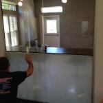 Privacy window tint