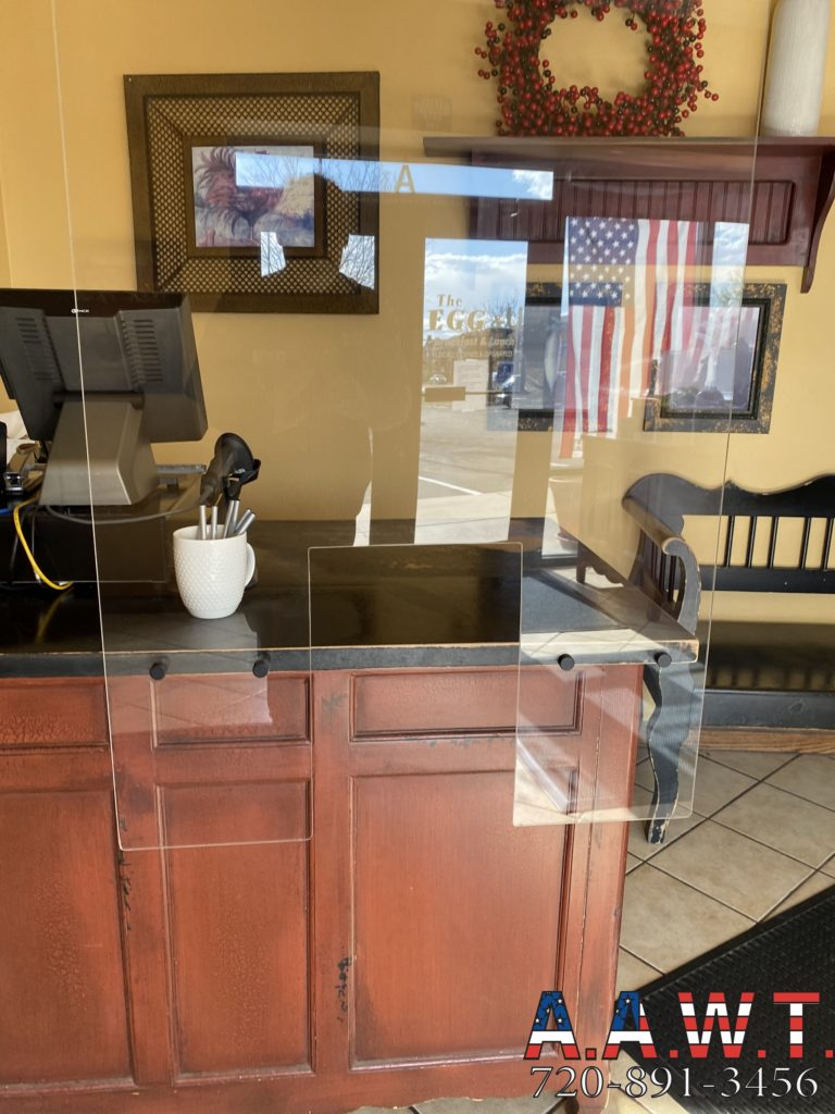 Restaurant Cashier Desk